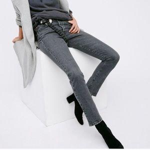 NWT LEVI'S 501 Skinny Jeans Black Coast Size 26